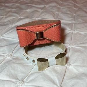 Bow Bracelet Set